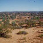 Great Victoria desert in south Australia