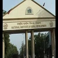 national institute of rural development hyderabad