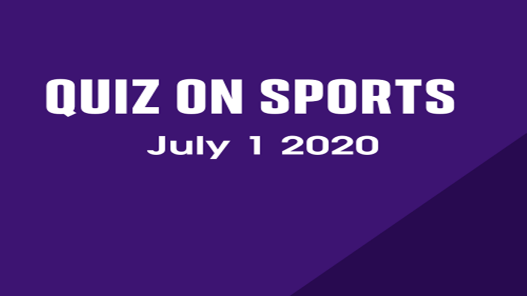 Quiz On Sports