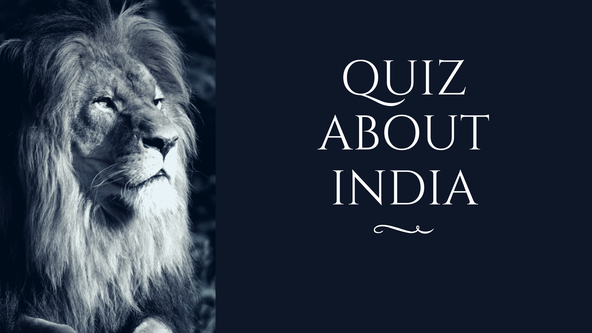 Quiz About India